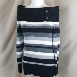 WHBM Off The Shoulder Sweater